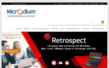 microdium.net screenshot