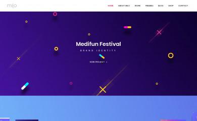milothemes.com screenshot