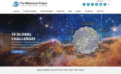 millennium-project.org screenshot