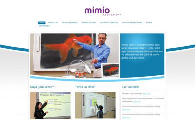 mimio.az screenshot