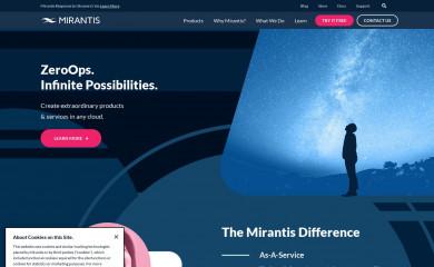 mirantis.com screenshot
