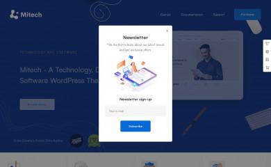 Mitech screenshot