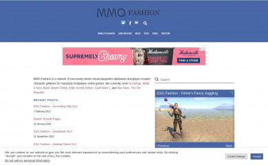mmo-fashion.com screenshot