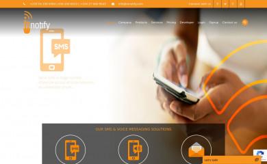 mnotify.net screenshot