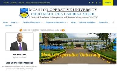 http://mocu.ac.tz screenshot