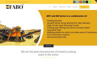 mobilecrusherplants.com screenshot