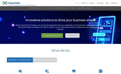 moentek.com screenshot