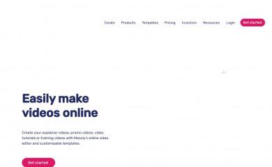 moovly.com screenshot