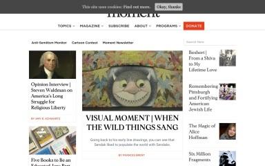 momentmag.com screenshot