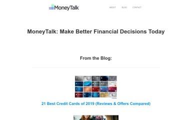 http://moneytalk.co screenshot