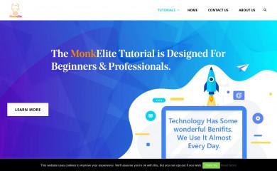 monkelite.com screenshot