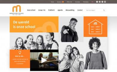 http://montessoricollege.nl screenshot