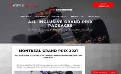 montrealgrandprix.com screenshot