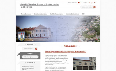 mopsradziejow.pl screenshot