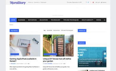 moralstory.org screenshot