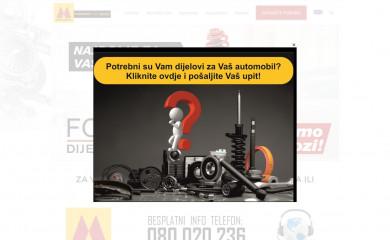 motorex.ba screenshot