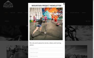 mountainprojectmt.com screenshot