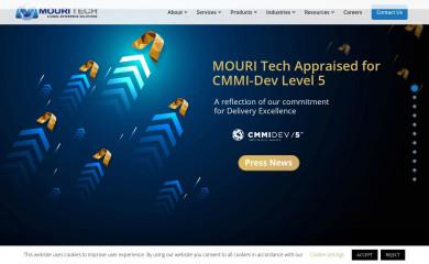 mouritech.com screenshot