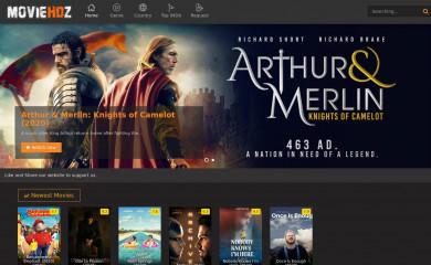 moviehdz.com screenshot