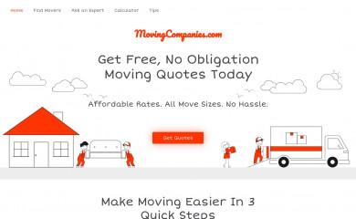 movingcompanies.com screenshot
