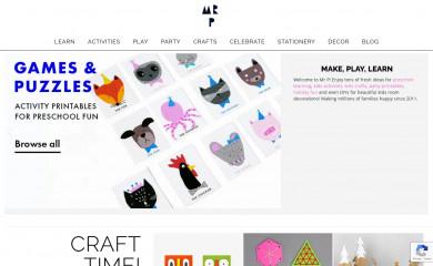 mrprintables.com screenshot