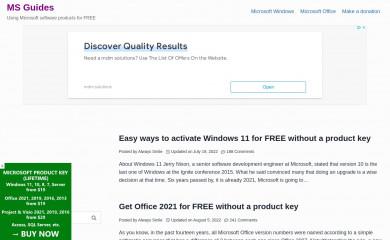 http://msguides.com screenshot
