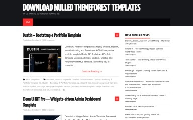 nullforest.com screenshot