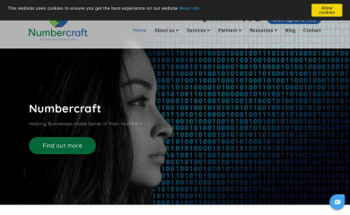 numbercraft.us screenshot