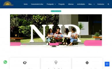 nur.edu screenshot