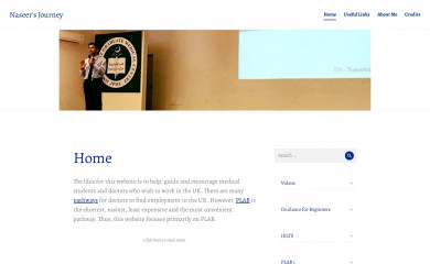 http://naseersjourney.com screenshot