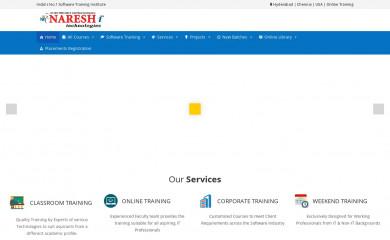 nareshit.com screenshot