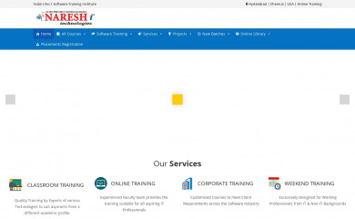 nareshit.com screenshot