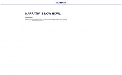 narrativ.com screenshot