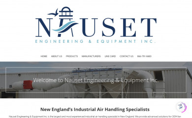 nauset-eng.com screenshot