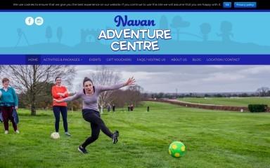 http://navanadventurecentre.ie screenshot