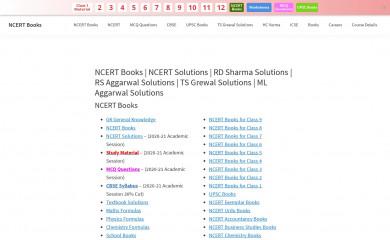 ncertbooks.guru screenshot