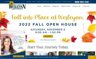 ncwc.edu screenshot