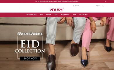 ndure.com screenshot