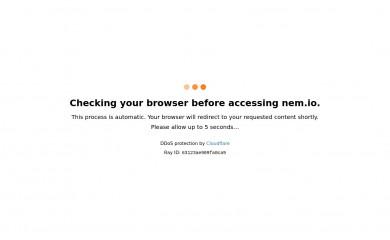 nem.io screenshot