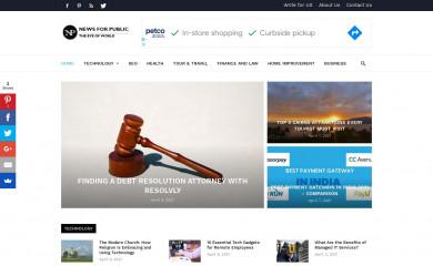 newsforpublic.com screenshot