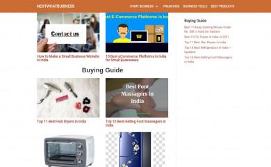 http://nextwhatbusiness.com screenshot