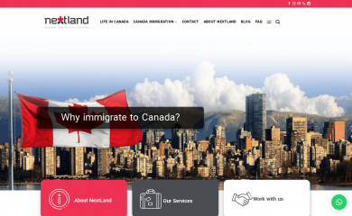 nextland.ca screenshot