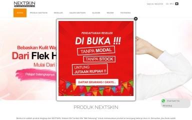nextskin.co.id screenshot