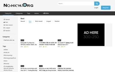 http://nghich.org screenshot