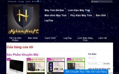 nghiemhaipc.com screenshot