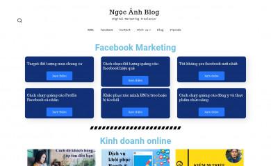 ngocanhblog.com screenshot