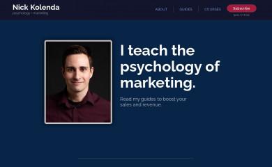 nickkolenda.com screenshot
