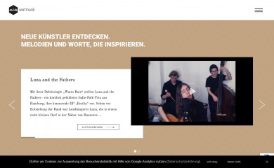 nia-wortmusik.de screenshot
