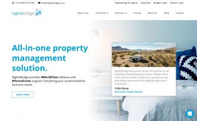 nightsbridge.co.za screenshot