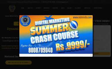 nidmindia.com screenshot